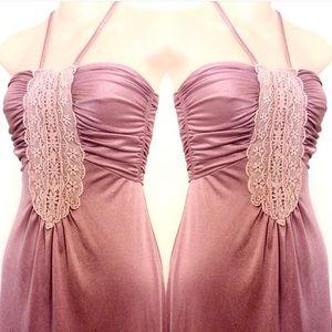 Dresses & Skirts - Disco Dancer VTG Dress in Mauve